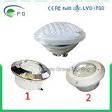 Resistente al agua IP68 LED PAR56 bajo el agua de la luz de la Piscina