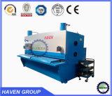 Máquina de corte hidráulica da folha de metal da guilhotina