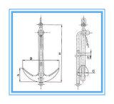 Marinemarine-Anker für Verkauf