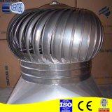 Het Ventilator van de Lucht van de Turbine van de Macht van de Wind van Roofvent van het roestvrij staal