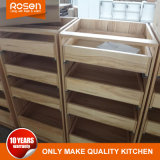 Belüftung-modulare gebogene Küche hohe Bulit Küche-Möbel