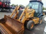 Оригинальные случае 580L для продажи колесный погрузчик с обратной лопатой