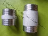 Raccordo tubo in acciaio inox 1.4408 nipplo a cilindro