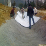 250G/M2 Needle Punched High Strength Not Woven Geotextile for Road Construction
