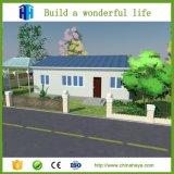 Villa en bois de maisons modulaires de Chambre préfabriquée de luxe préfabriquée de conteneur