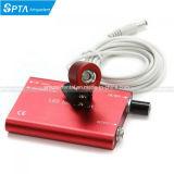El LED rojo portátil de la luz de faro para el médico quirúrgico Dental lupa binocular