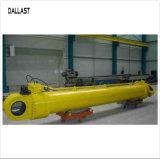 縦の打撃クレーンのための1000年- 3000mmの油圧産業シリンダー二重機能