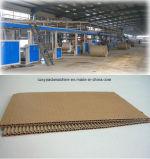 3/5/7ply 2 murs de la ligne de production de Carton Carton Ondulé rendant la ligne