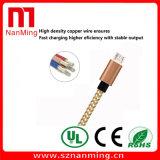 USB Braided di nylon 2.0 di alta velocità un maschio al micro cavo del maschio del USB
