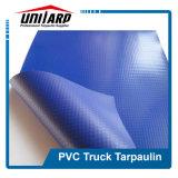 Azul escuro lona de PVC de contentores industriais