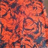 Tissu de rayonne estampé par approvisionnement de constructeur pour l'habillement de femmes de mode