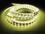 Alta luz de tira flexible brillante de la cinta de 2835 SMD LED con los 60LED/M los 84LEDs/M (TUV, CE, FCC, RoHS)