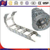 Cadeia de arrasto de transporte de cabo de trilho de aço