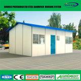 Construction de maisons portative modulaire préfabriquée de Chambre de conteneur de construction de poids léger