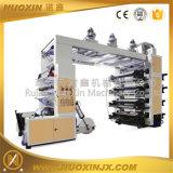 8 cores de alta velocidade máquina impressora flexográfica para venda