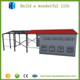 Esportazione alla tettoia prefabbricata africana del magazzino della struttura d'acciaio del blocco per grafici dello spazio