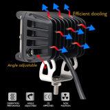 Shooter lateral cubos LED apagado las luces de carretera 45W 3 pulgadas Offroad 4X4 de luz LED de trabajos puntuales para SUV ATV UTV
