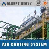 Sistema di raffreddamento dell'aria per il rivestimento della polvere