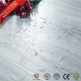 木製の穀物の表面の灰色の積層物のフロアーリングHDF