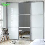 집을%s 현대 작풍 PVC 미닫이 문, PVC 프레임 강화 유리 미닫이 문