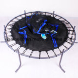 55 Inches Mini Trampoline with Safety Net for Kids (VTM55IN)