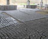 까만 화강암 자연적인 돌 포장 기계