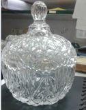 La qualité comparent la verrerie en verre Sdy-F00507 de vaisselle de cuisine de saladier
