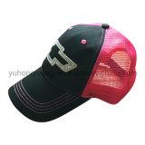 La gorra de béisbol de la manera, encaja a presión detrás se divierte el sombrero del camionero