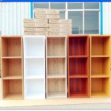 Le mur conçoit l'étagère de livre en bois de bibliothèque de meubles d'enfants