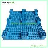 Blauwe Plastic Nieuwe Steunbalken Negen Voet van Pallets voor Verpakking