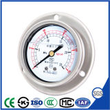 Axial Vibration Resisting Stainless Steel Presses Gauge with Oil Filled