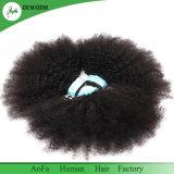 Menschenhaarkambodschanischer Afro-verworrenes lockiges rohes Jungfrau-Haar