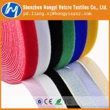 100% Nylon gancho y bucle auto-adhesivo de la cinta