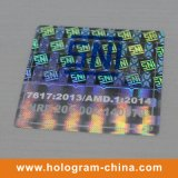 Laser Texture Anti-Fake Stickers do costume 3D Hologram