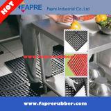 Tape de cozinha de borracha de drenagem / Revestimento de piso de bloqueio / Matra anti-fadiga.