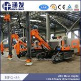 Plataforma de perforación Hfg-54 de la mejor perforación de la explotación minera de la fábrica