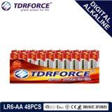 1.5V Digital alkalische Batterie-trockene Batterie mit BSCI (LR-AA 8PCS)