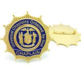 Fabricant de faire cadeau souvenir 3D les insignes de la police insigne métallique avec un logo (BG08)