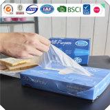 OEM contacto alimentar claro o grau de HDPE Interfolded Deli Folhas para embalagem de alimentos