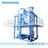 Het Maken van het Ijs van Snowkey Machine de Van uitstekende kwaliteit van het Ijs van de Buis van de Machine 30 Tons/24hr