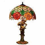 De Schemerlamp van Tiffany van de Lamp van het Gebrandschilderd glas van de Groothandelsprijs