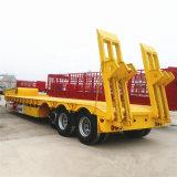 Nouvelle condition de trois essieux Lowbed Semtrailer 50 la tonne pour la vente à bas prix