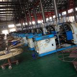 24 máquinas inoxidáveis horizontal da trança do fio de aço do eixo para a mangueira do metal