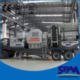 Rahmen-Aufbau-Serien-mobile Kiefer-Zerkleinerungsmaschine