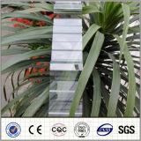 중국 제조자 폴리탄산염은 0.7mm-2.5mm PC 장을 주름을 잡았다