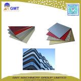 ACP-Aluminiumzusammengesetzte Wand-Blatt-Platten-Strangpresßling-Plastikzeile
