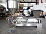 El doble dirige el equipo horizontal G2wgd del llenador de la máquina de rellenar de la goma de la botella