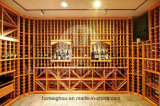 Madera empotrable 12 botellas Wine Rack Cube Counter Top