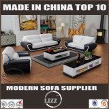 Mobília popular de Skinn Soffor com couro real para a sala de visitas