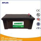 Батарея автомобиля N150 нового поколения JIS безуходная 145g51 12V150ah
